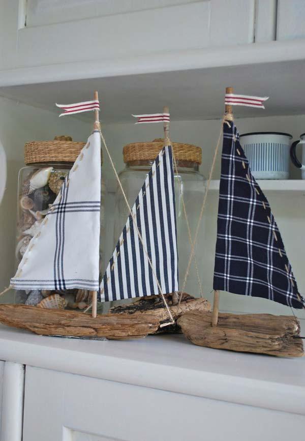 DIY ιδέες διακόσμησης με θαλασσόξυλα1