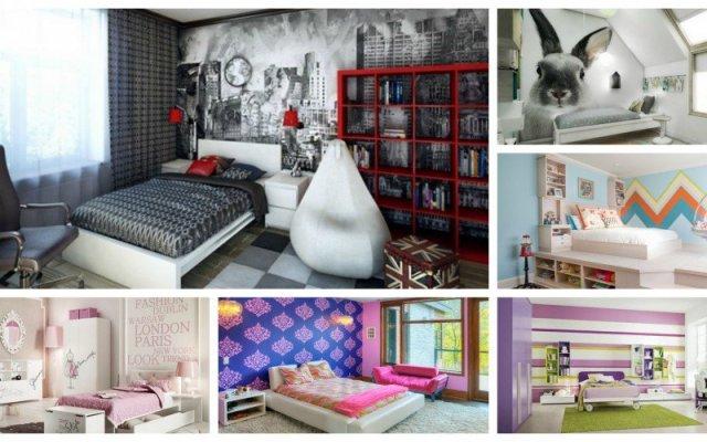 Παιδικά υπνοδωμάτια με ενδιαφέρουσες ιδέες διακόσμησης τοίχου