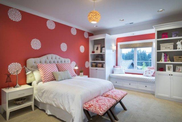 Παιδικά υπνοδωμάτια με ενδιαφέρουσες ιδέες διακόσμησης τοίχου10