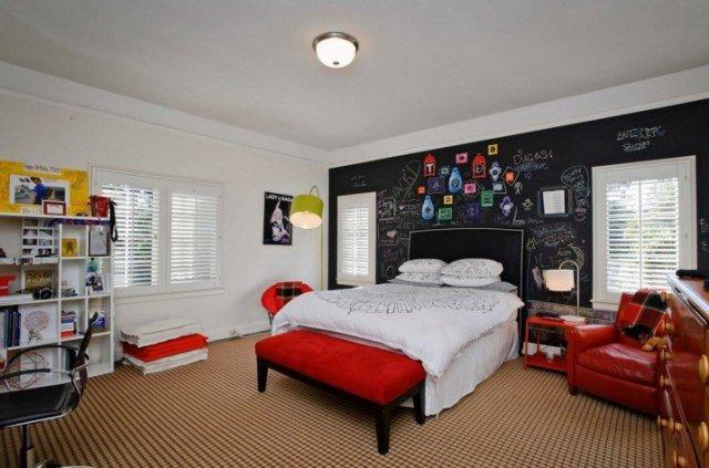 Παιδικά υπνοδωμάτια με ενδιαφέρουσες ιδέες διακόσμησης τοίχου5