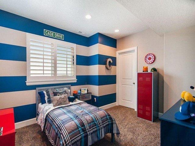 Παιδικά υπνοδωμάτια με ενδιαφέρουσες ιδέες διακόσμησης τοίχου6