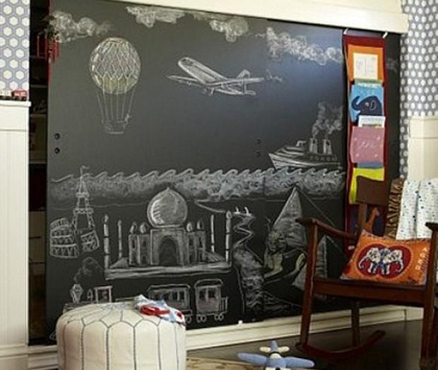 Τοίχοι μαυροπίνακας σαν τέχνη1
