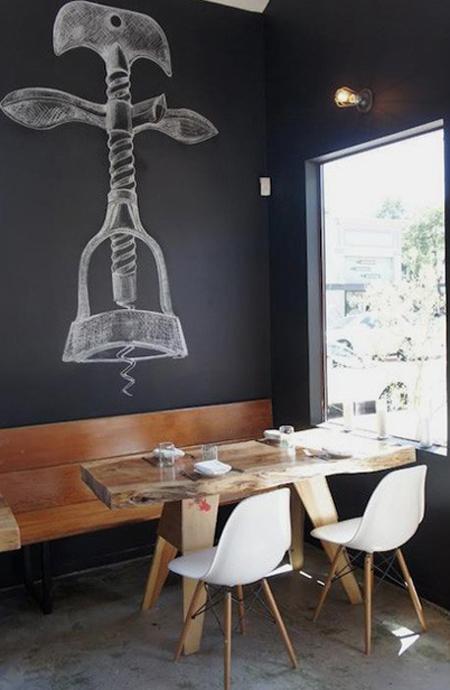 Τοίχοι μαυροπίνακας σαν τέχνη3