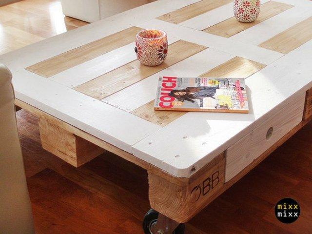 Ιδέες με ξύλινες παλέτες11