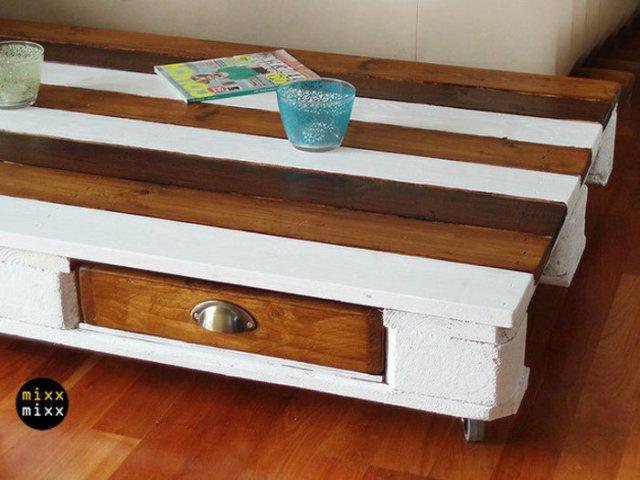 Ιδέες με ξύλινες παλέτες12