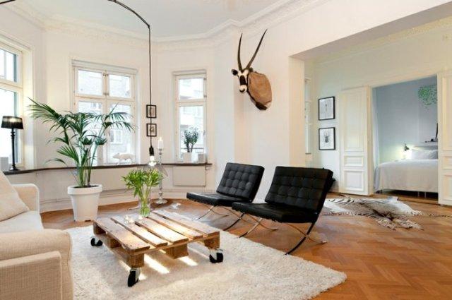 Ιδέες με ξύλινες παλέτες14