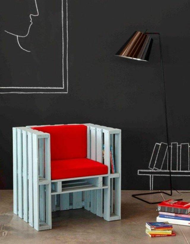Ιδέες με ξύλινες παλέτες21