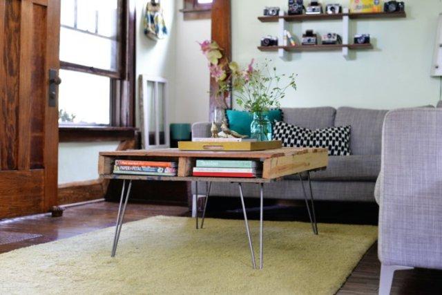 Ιδέες με ξύλινες παλέτες4