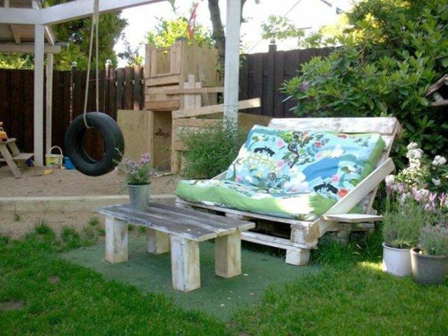 Ιδέες με ξύλινες παλέτες45