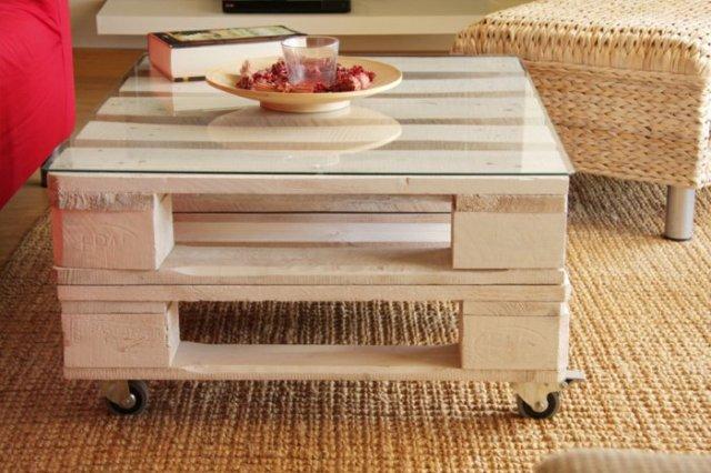 Ιδέες με ξύλινες παλέτες5