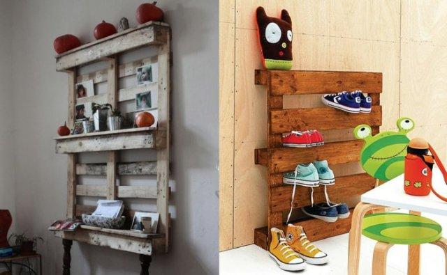 Ιδέες με ξύλινες παλέτες54