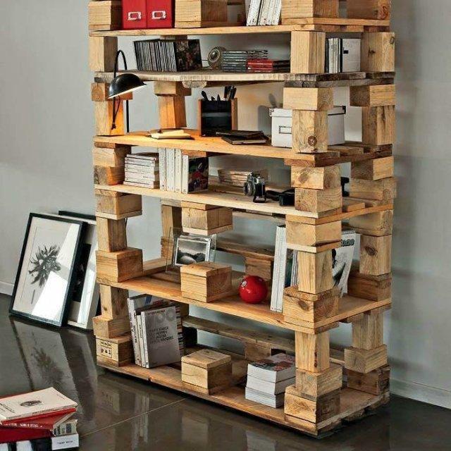 Ιδέες με ξύλινες παλέτες56