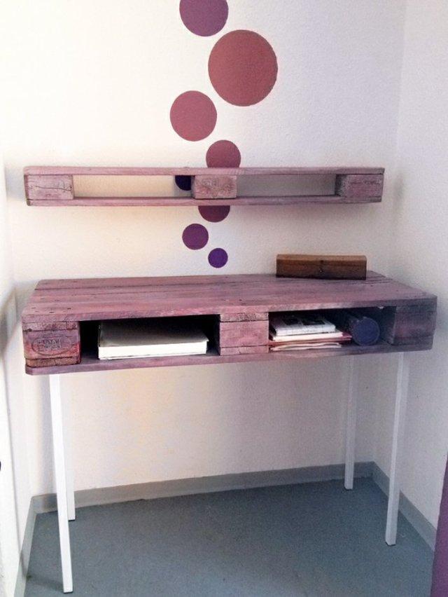 Ιδέες με ξύλινες παλέτες62