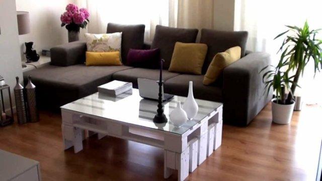 Ιδέες με ξύλινες παλέτες70