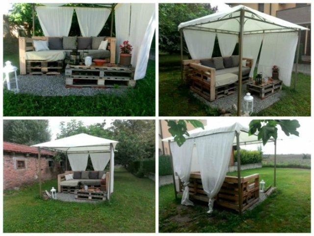 Ιδέες με ξύλινες παλέτες72