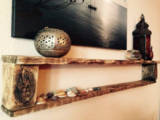 Ιδέες με ξύλινες παλέτες75