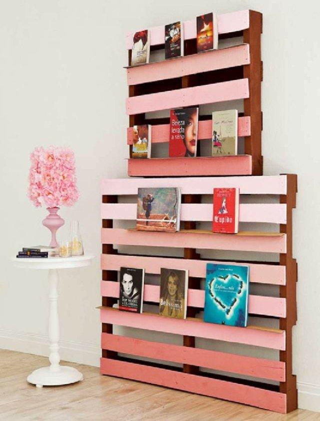 Ιδέες με ξύλινες παλέτες90