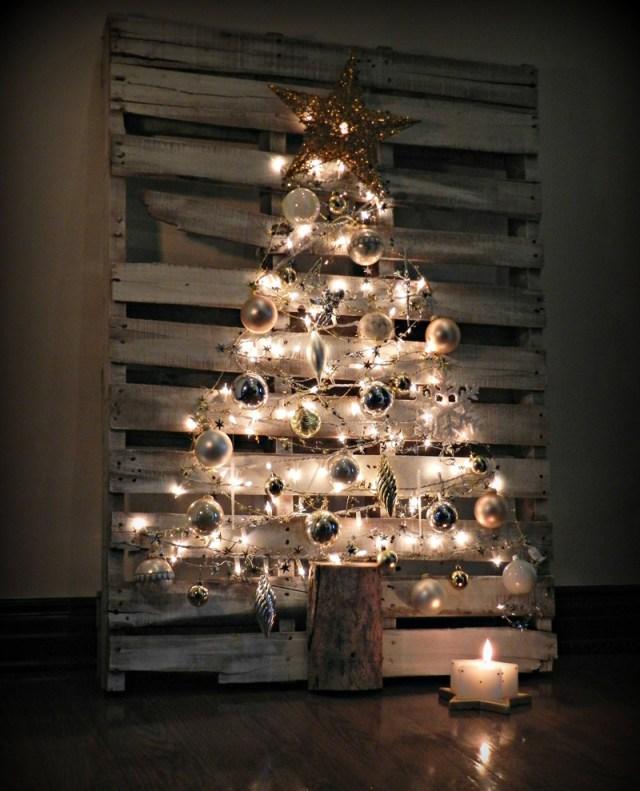 διακοσμήσεις Χριστουγέννων από παλέτες1