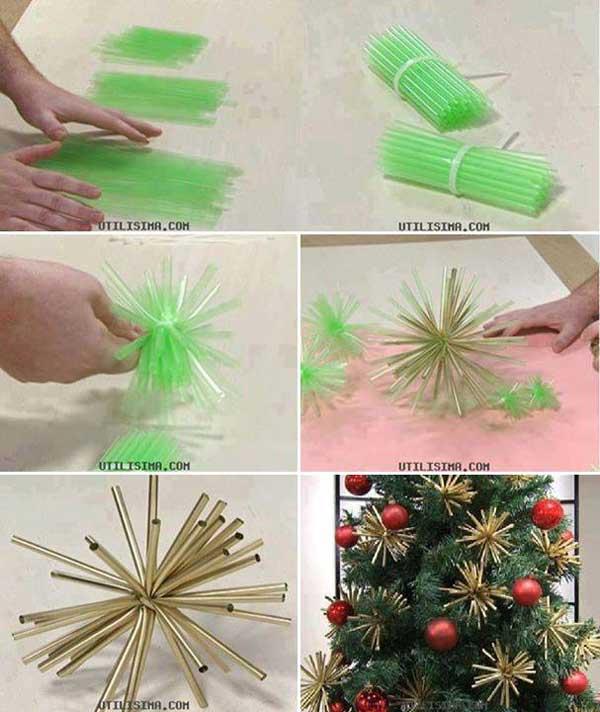 DIY Χριστουγεννιάτικες διακοσμήσεις9
