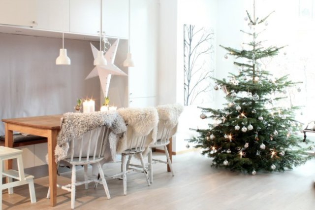Χριστουγεννιάτικος στολισμός σε σκανδιναβικό στυλ39