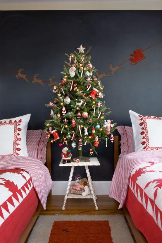 χριστουγεννιάτικες ιδέες διακόσμησης για τα δωμάτια των παιδιών21