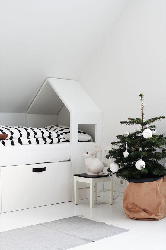 χριστουγεννιάτικες ιδέες διακόσμησης για τα δωμάτια των παιδιών22