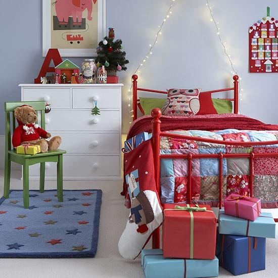 χριστουγεννιάτικες ιδέες διακόσμησης για τα δωμάτια των παιδιών6