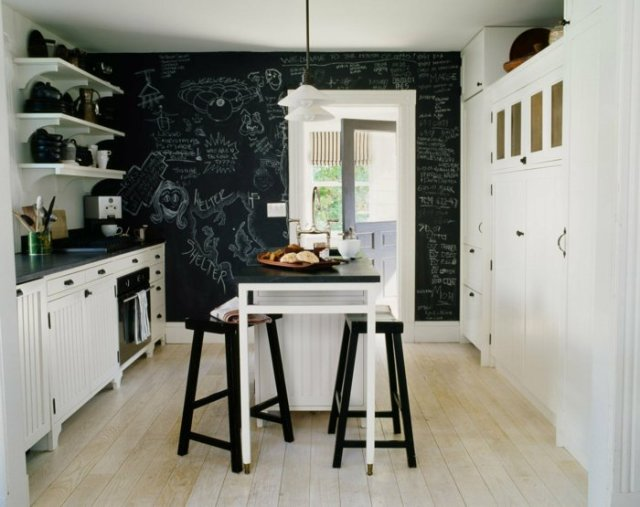 wall decoration ideas in dark shades18