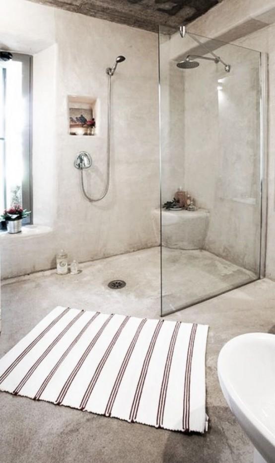 Μπετόν στο μπάνιο ιδέες24