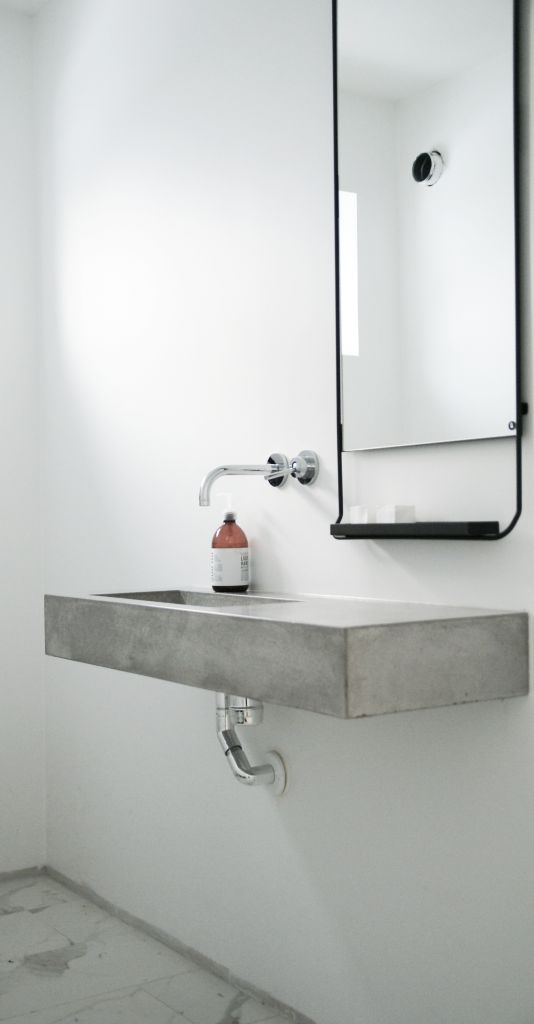 Μπετόν στο μπάνιο ιδέες36
