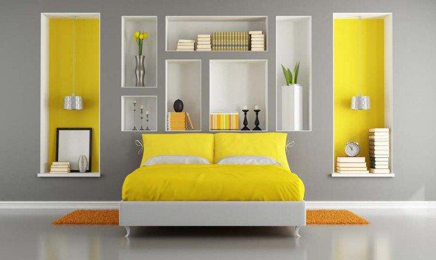 ιδέες διακόσμησης με κίτρινο15