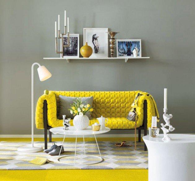 ιδέες διακόσμησης με κίτρινο16
