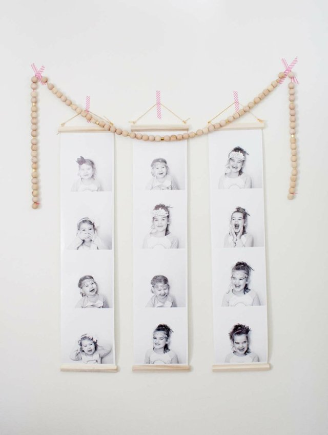 creative ideas to display pictures16