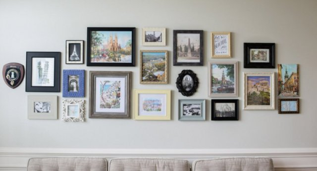 creative ideas to display pictures28