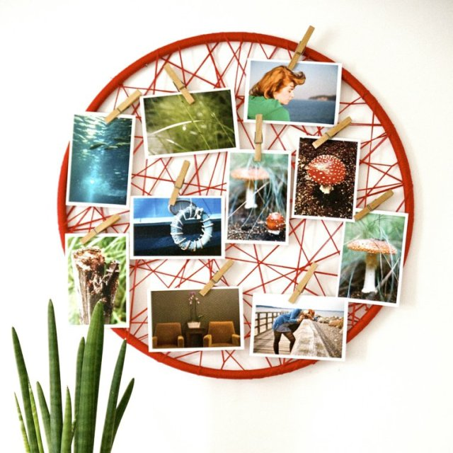 creative ideas to display pictures33