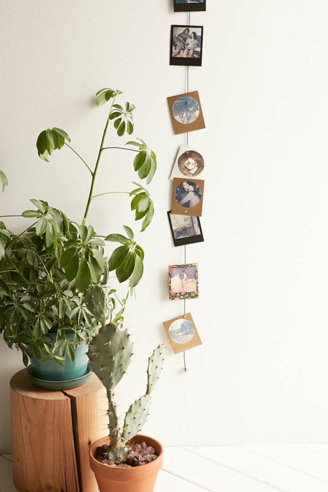 creative ideas to display pictures7