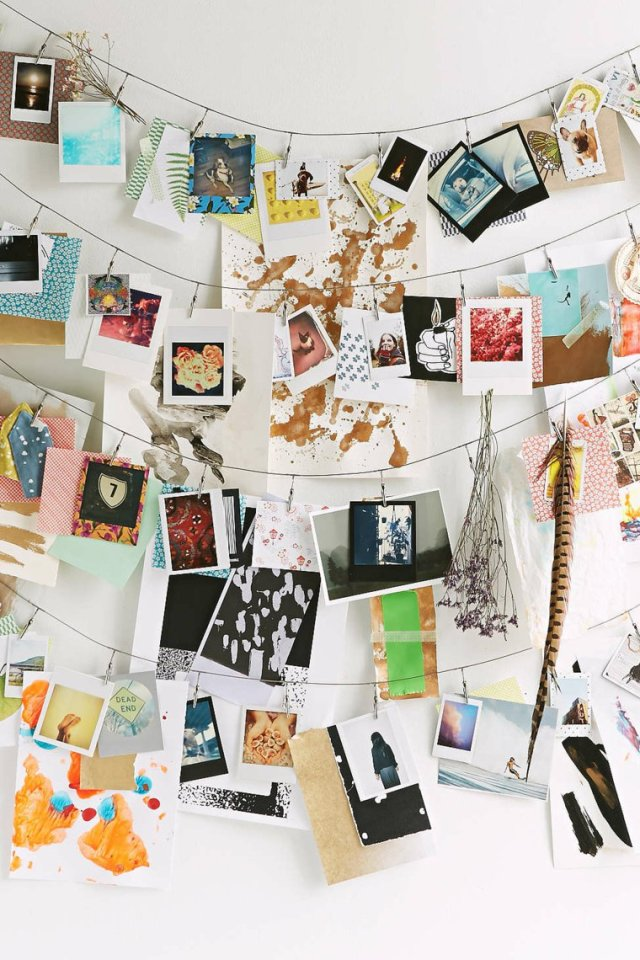 creative ideas to display pictures9