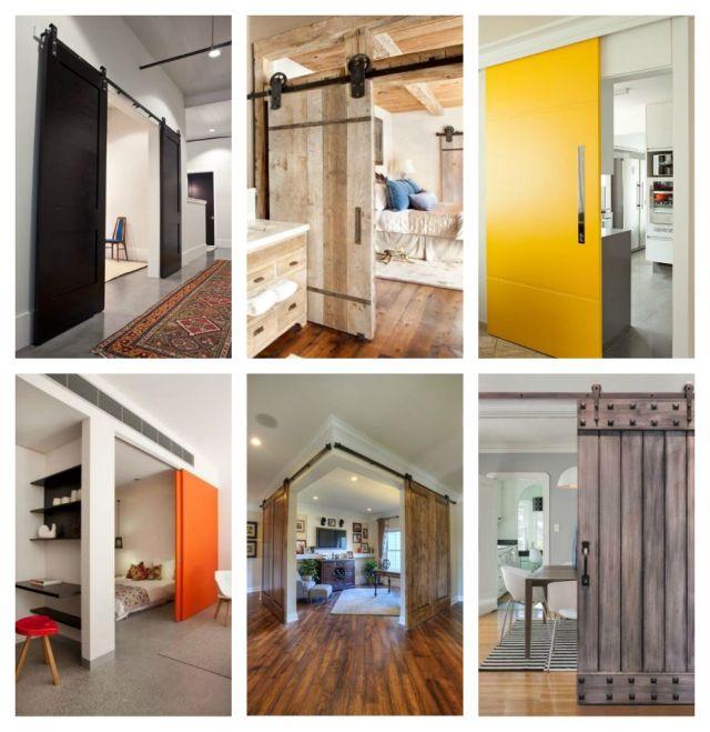 ιδέες με συρόμενες πόρτες