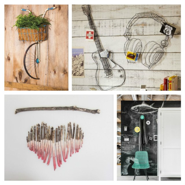 Πρωτότυπες ιδέες για τη διακόσμηση τοίχων
