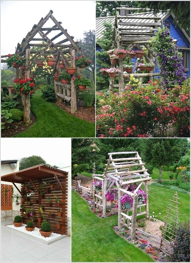 κήπος με πέργκολα ιδέες1