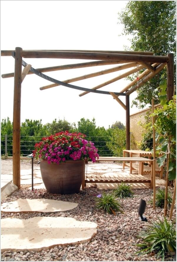 κήπος με πέργκολα ιδέες4