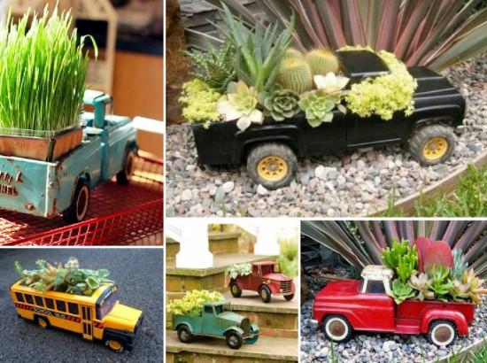 DIY ιδέες γλάστρας από οικιακά είδη11