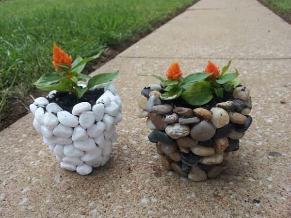 DIY ιδέες γλάστρας από οικιακά είδη21