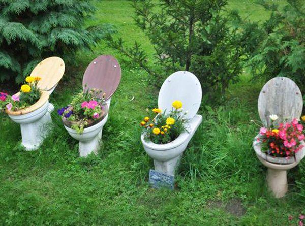 DIY ιδέες γλάστρας από οικιακά είδη24