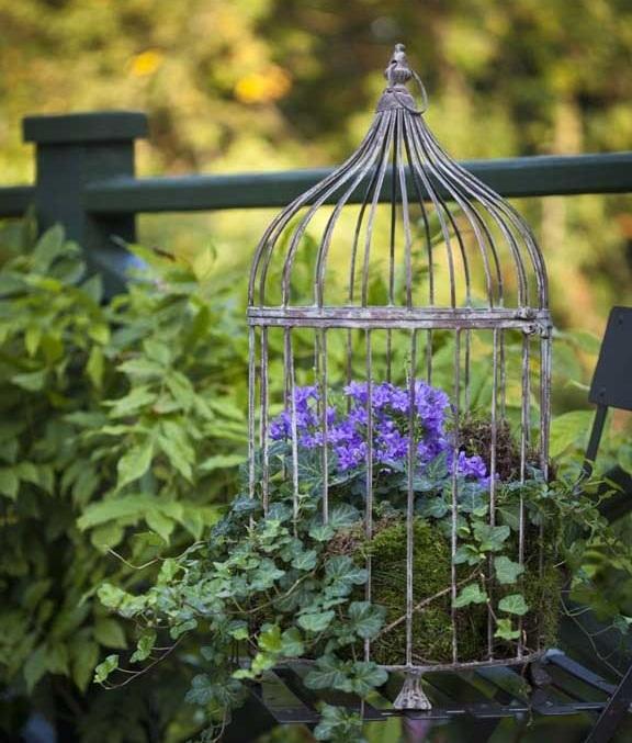DIY ιδέες γλάστρας από οικιακά είδη3