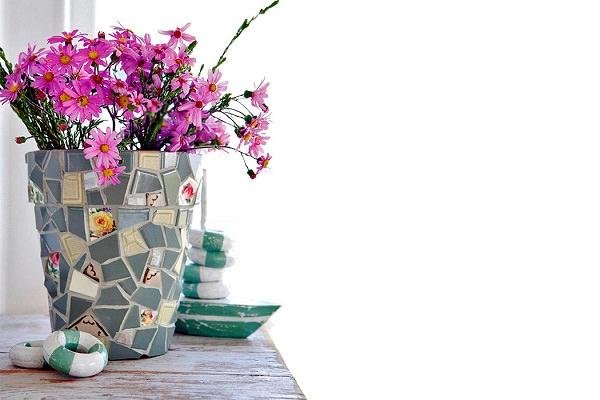 DIY ιδέες γλάστρας από οικιακά είδη9