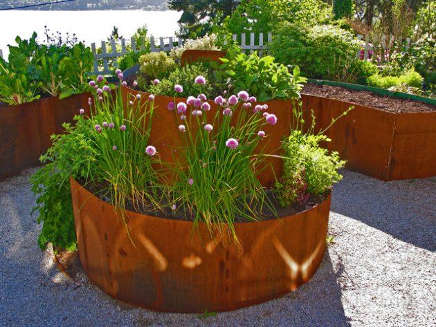 σπιράλ σχέδια κήπου11
