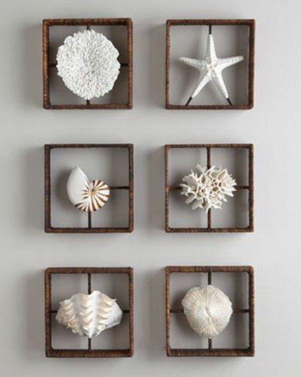Diy ιδέες θαλασσινής διακόσμησης τοίχου16