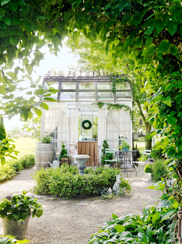 πόρτες και παράθυρα στον κήπο9