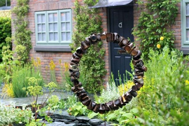 Μοντέρνα γλυπτική κήπου10